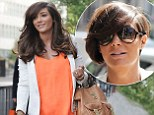 'Prego hair': Frankie Sandford turns into a yummy mummy-to-be as she ditches her signature crop for long tresses