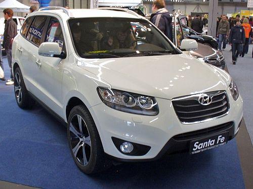 List of Crossover Vehicles - Hyundai Santa Fe