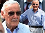 Working his spidey senses! Comic book legend Stan Lee makes a cameo on set of The Amazing Spider-Man 2