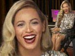 Me... pregnant? Beyoncé deflects questions over claims she's expecting baby No.2... insisting she hasn't heard the rumours