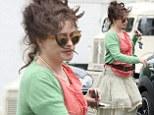 Helena Bonham Carter is seen out in west London