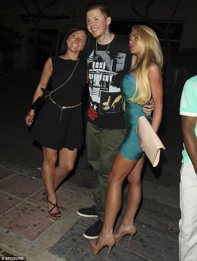 Jet-setter: Professor Green had arrived back in the UK on Friday after performing in Marbella, Spain on Thursday night