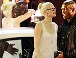 The British singer was pictured enjoying a night out on the town with the pretty 28-year-old in Sydney on Sunday.