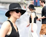 Jennifer Lawrence and Nicholas Hoult were spotted together walking in Montreal