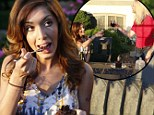 Farrah Abraham shares birthday toast with mother as pair put differences aside over sex tape