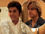 EXCLUSIVE: 'This must be fate!' Michael Douglas' Liberace and Matt Damon's Scott Thorson flirt as they meet for the first time in Behind The Candelabra clip