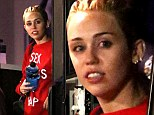'Dancing with Molly': Miley Cyrus 'references ecstasy use in her new single We Can't Stop' as she steps out in 'Sex, Drugs and Rap' top
