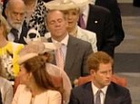 Mike Tindall nodding off