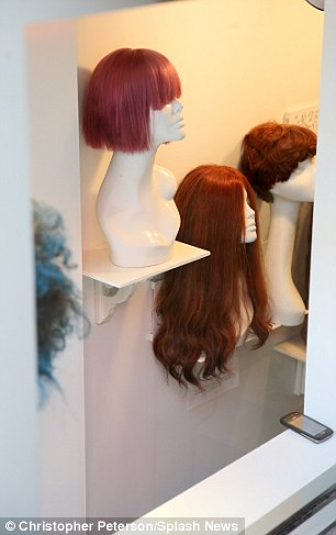 Hunting for a new crown: She stopped in at Hadiiya Barbel Collection, which specializes in human hair lace-front wigs with natural parts