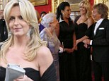 Cutting it fine! Glamorous Penny Lancaster makes a last-minute trip to the hair salon ahead of meeting the Queen with Rod Stewart