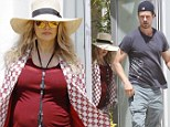 Nesting at the beach? Pregnant Fergie takes her baby bump house hunting in Malibu