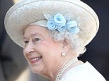 Blooming! The Queen wore an unusual flower-trimmed hat that was a departure from her normal wide-brimmed style