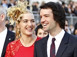 Baby on board: Kate Winslet has confirmed she is expecting third child, her first with husband Ned Rocknroll