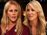 'Vicki cheated on her husband and I caught her in bed with another woman': Lauri Peterson stirs up trouble as she returns to Real Housewives of Orange County