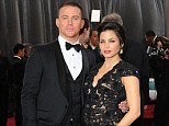 Loved up: The couple, who have been married for four years, made a handsome couple at the Oscars in February