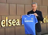The year of new managers: Jose Mourinho was unveiled as Chelsea boss on Monday