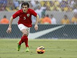 Manchester bound: Leighton Baines has been pushing Ashley Cole for an England start