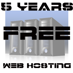 5 Years Free Web Hosting