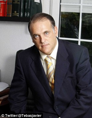 Here to help: Javier Tebas wants to end match-fixing