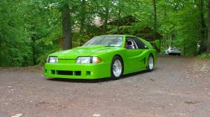 "Craigslist Find: ""Ultra High Speed"" Neon Green '87 Mustang"
