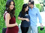 Baby joy! Home And Away alum Tammin Sursok reveals she is pregnant with her first child... and her bump is already blossoming
