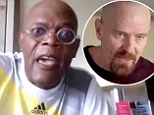 Channeling Walter White for a good cause: Samuel L. Jackson performs monologue from Breaking Bad to raise money to fight Alzheimers