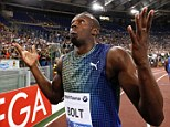'You can't win every race': After losing the 100m, Usain Bolt tried to make light of it to reporters