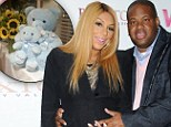 'He's finally here!': Tamar Braxton and husband welcome a baby boy