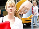 Engaged or not? Ireland Baldwin's mystery ring said to be 'just a ring she likes' that fits 'that finger'