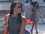 Watch and learn, girls! Naomi Campbell struts around Paris as she films her new model search reality show The Face