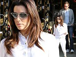 Ready for love now? Eva Longoria takes her new boyfriend Ernesto Arguello art gallery shopping as she gears for new series