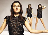 'When I got the part in Les Miserables, my life changed forever' Samantha Barks talks to Glamour Magazine about finding stardom