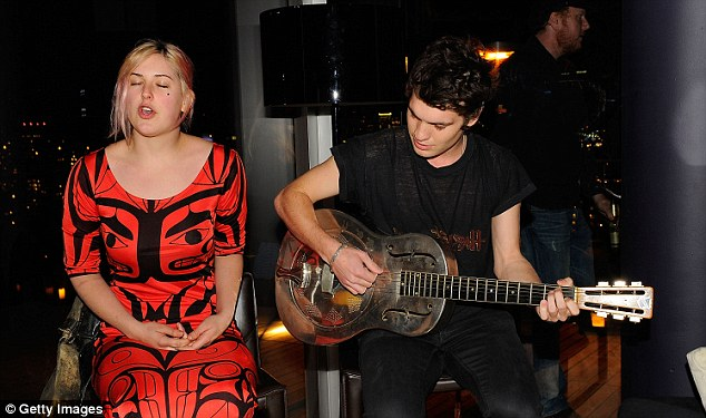 Plaudits: Gus Wenner and Scout Willis have won acclaim for the music and have toured across the US.