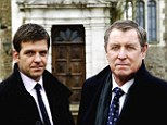 Retirement is murder: Buckinghamshire, home of Midsomer Murders (left), and Cambridgeshire are the counties with the highest drop in income between employment and retirement.
