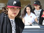 Prince Jackson shops with his girlfriend in New York...as it is revealed he 'feuded with sister Paris' before her suicide attempt