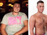 'I lost 5 stone... and my virginity!' 20-stone fast food addict who feared he would never have a girlfriend tones up and finds love