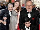 Hollywood's biggest names flock to honour Mel Brooks at lifetime achievement event... but his mini me grandson Henry steals the show