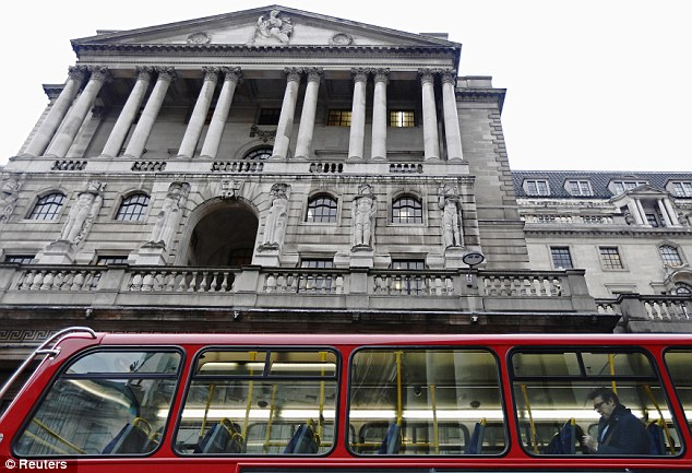 Changes: Under the plans, banks who lend more to those struggling to get credit will be offered access to super-cheap Bank of England (pictured) loans