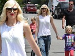 Honor-able guests! Gwen Stefani and Gavin Rossdale take their children to celebrate Jessica Alba's daughter's birthday