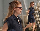 Princess Beatrice and boyfriend Dave Clark enjoy a day on a boat with friends on the French Riviera Featuring: Princess Beatrice Where: Nice, France When: 07 Jun 2013 Credit: WENN.com
