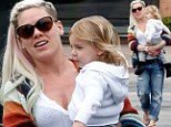 Staying ripped! Pink dons torn boy jeans as she bonds with her daughter Willow during rare break from world tour