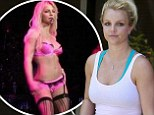 So that's her secret! Britney Spears hits the dance studio... after proving she's in just as fine form as she was almost 10 years ago
