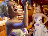 Cupcakes and country music: Carrie Underwood celebrates with a never-ending pile of cupcakes as country music stars gather for day two of the CMA Festival
