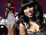 She's a dreamgirl, alright! Jennifer Hudson flaunts her long legs in tight hot pants
