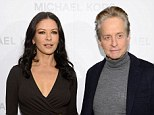 Speaking out: Michael Douglas has admitted that wife Catherine Zeta Jones had to recently visit a treatment facility for her bipolar disorder because of her 'meds'
