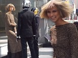 Hitting all the right notes: Karlie Kloss turns music model as she shoots video with Daft Punk