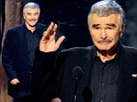 Health issues (and a rumoured facelift) look to have taken their toll on Burt Reynolds, 77, at Guy's Choice Awards