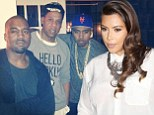 Pregnant Kim Kardashian sends birthday message to 'the love of my life' Kanye West as she's 'banned from flying' to New York bash