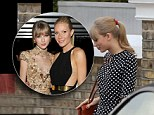Taylor Swift leaves Gwyneth Paltrow's house
