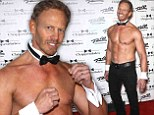 'I'm like Magic Ian now': Ian Ziering, 49, displays buff torso and six-pack abs for Chippendales in Las Vegas